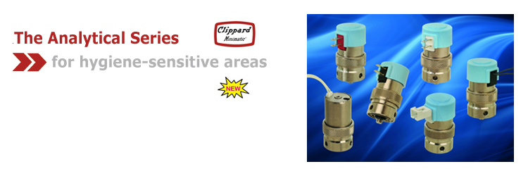Clippard Analytical Series Electronic Valves